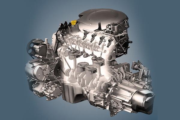 Двигатель RenaultLogan1.6 K7M