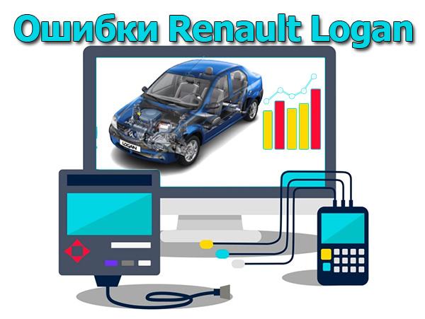 Ошибки Renault Logan