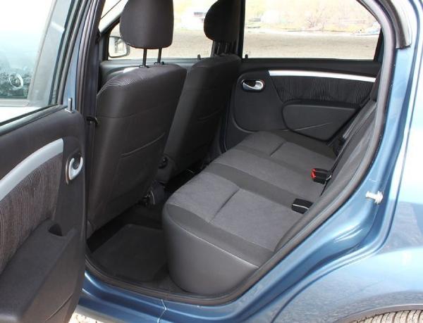 Задние сидения Renault Logan 1