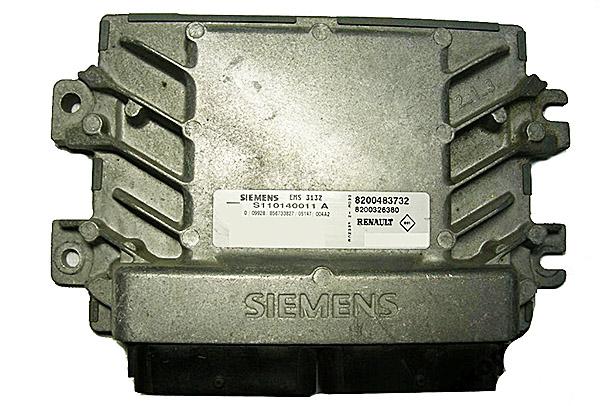 ЭБУ Siemens EMS-3132 Renault Logan I поколения