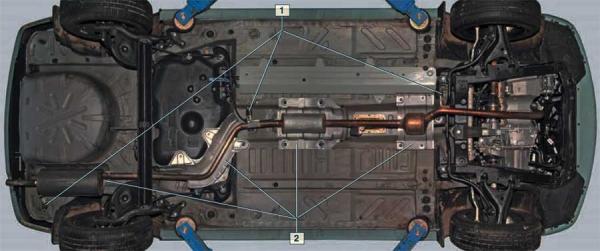 Выхлопная система Logan 1