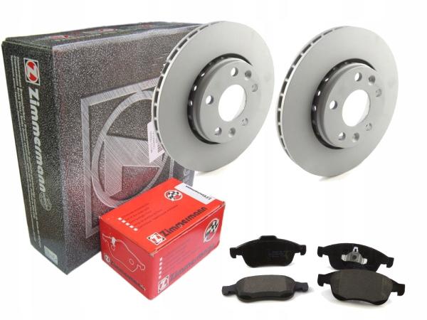 Комплект тормозных дисков и колодок на Renault Duster