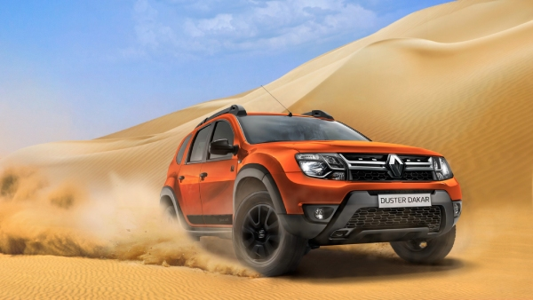 Тест драйв Duster Dakar