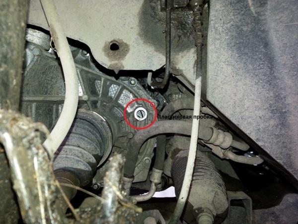 Проверяем уровень масла в АКПП Renault Duster