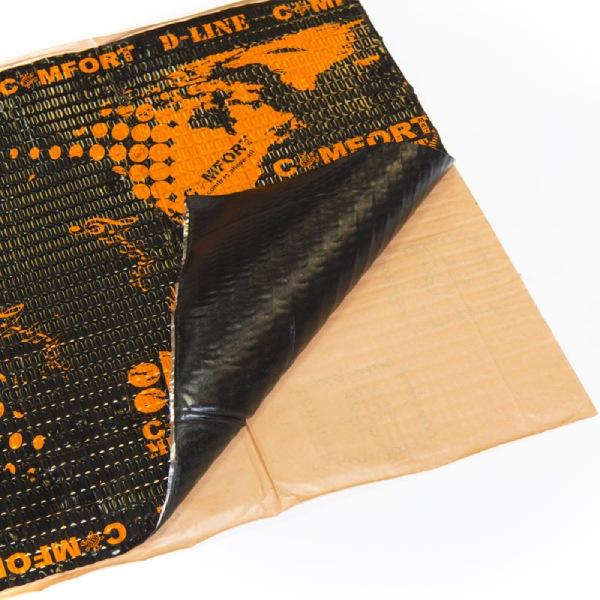 Материал для шумоизоляции арок Duster