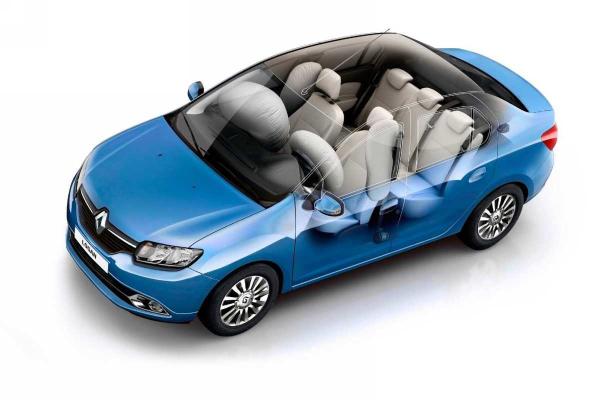 Безопасность Renault Logan 2