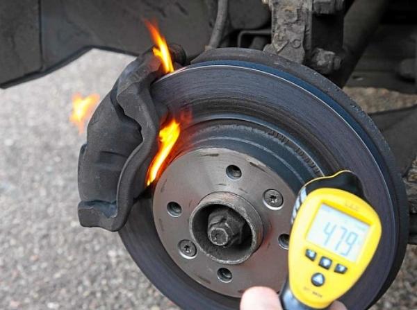 Тормозных диски и колодки на Renault Duster