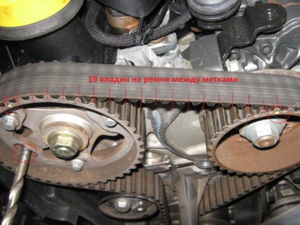 Меняем ремень ГРМ на дизельном Renault Duster