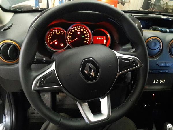 Диаметр руля Renault Logan