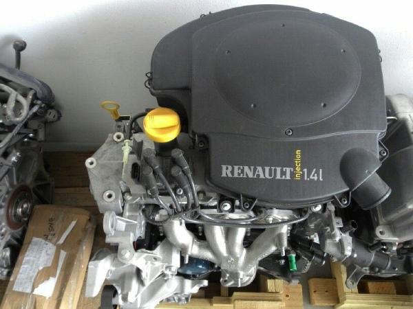 Характеристики двигателя K7J