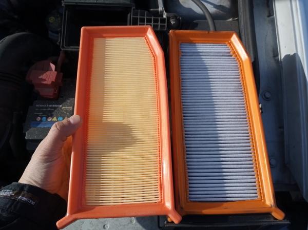 Интервал замены воздушного фильтра Duster