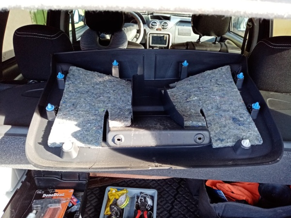 Устраняем проблему накладки задней двери Renault Duster
