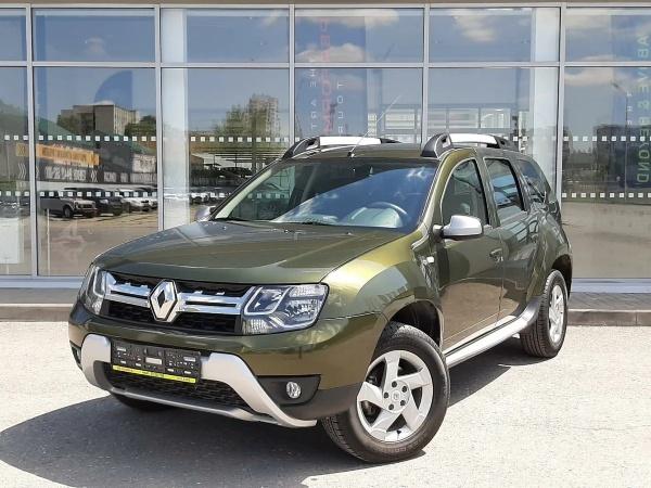 Renault Duster рестайлинг
