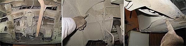 Сливаем масло из КПП и снимаем пластиковую защиту со стороны арки колеса чтоб добраться до штанги. Тоже самое и снизу, чтобы не мешала, на этапе снятия подрамника.