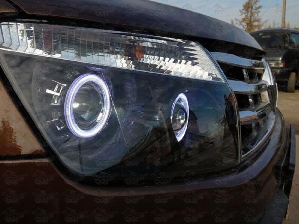 Доработка оптики Renault Duster