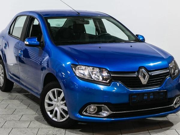 Экстерьер Renault Logan 2