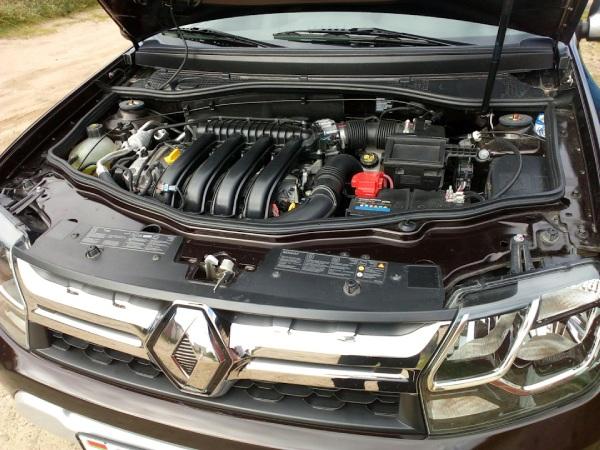 Двигатели на Renault Duster Adventure