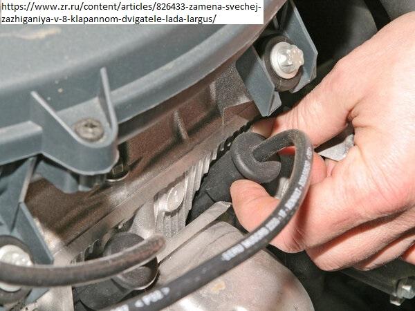 Замена свечей зажигания на моторе К7М