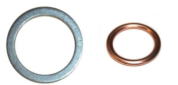 Алюминиевая прокладка заднего редуктора / Медное колечко на раздатку