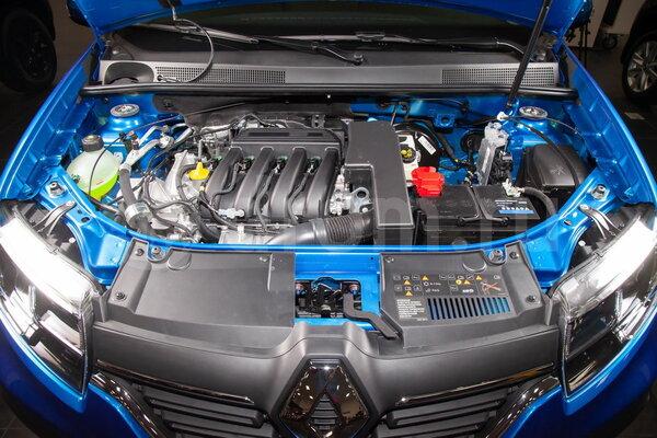 Мотор К4М (16 клап.) с 4АКПП