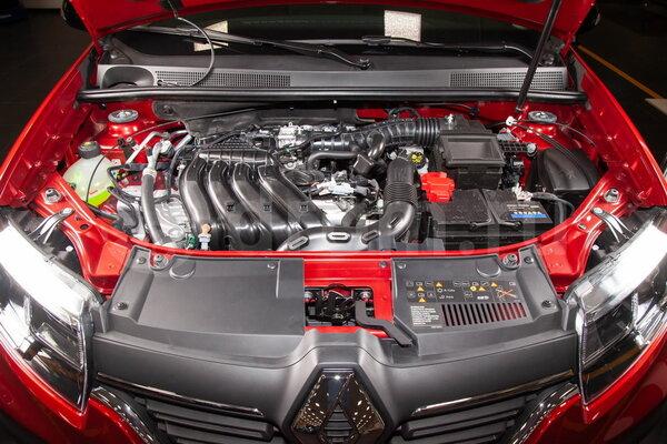 Двигатель Н4М (16 клап.) с бесступенчатым вариатором