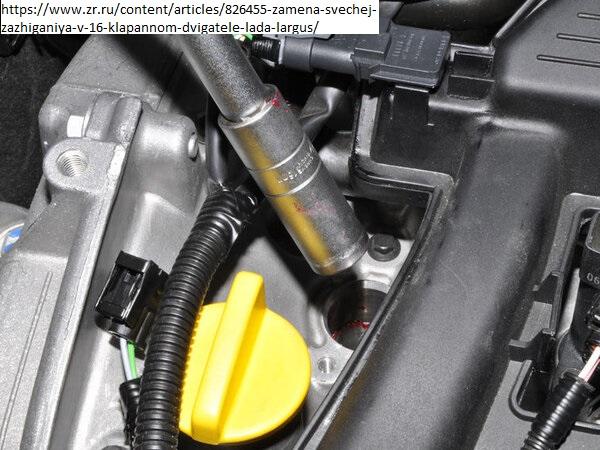 Меняем свечки на двигателе К4М