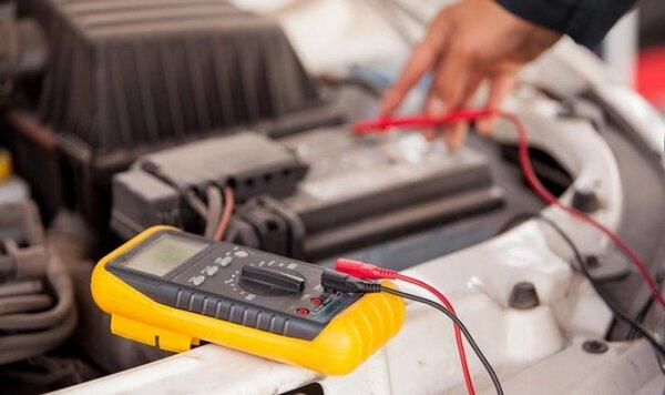 Проверка заряженности батареи