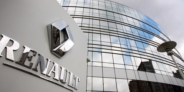 Штаб квартира Renault во Франции