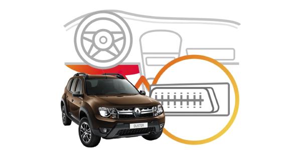 Диагностический разъем Renault Duster