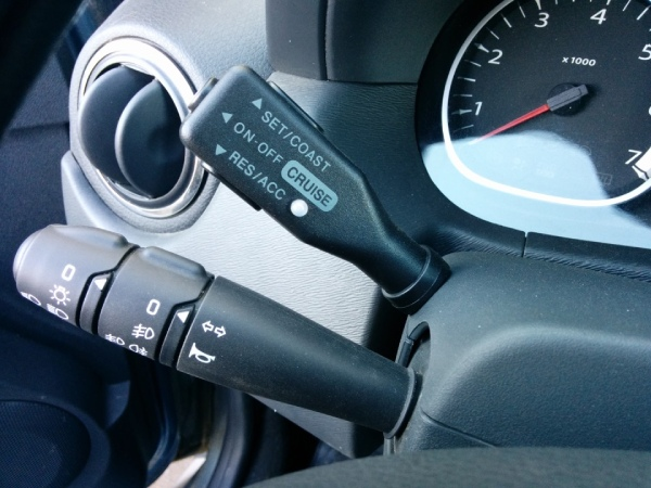 Круиз - контроль на Renault Duster