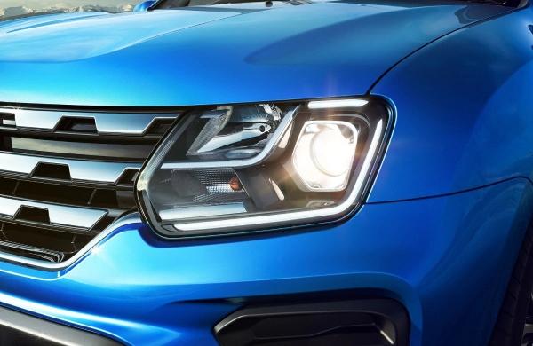 Передняя и задняя оптика Renault Duster