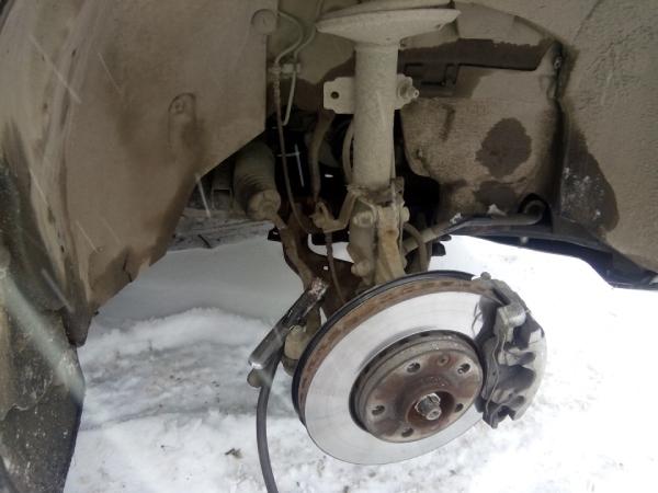 Замена пыльника и рулевой тяги Duster