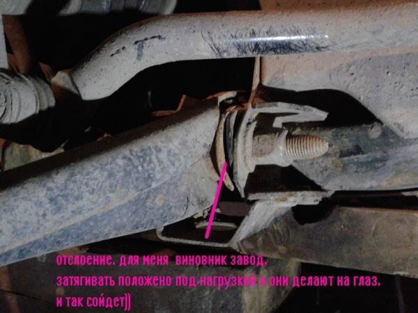Признаки выхода из строя сайлентблоков Renault Duster