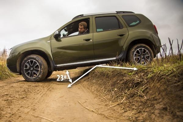 Дорожный просвет Renault Duster