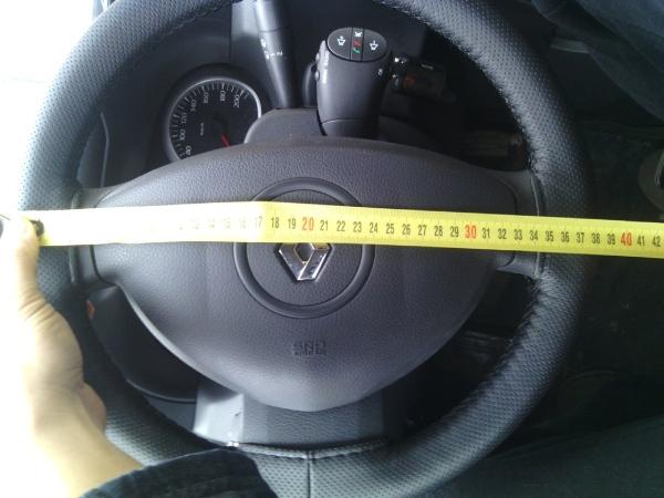 Диаметр руля Renault Duster