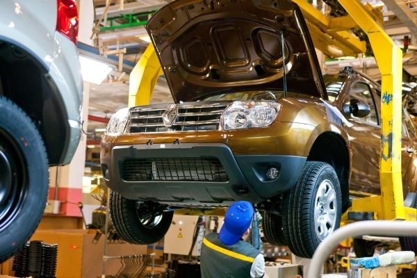 Renault Duster производство