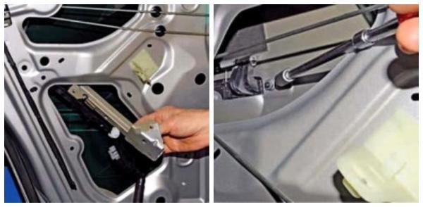 Замена замка задней двери Renault Duster