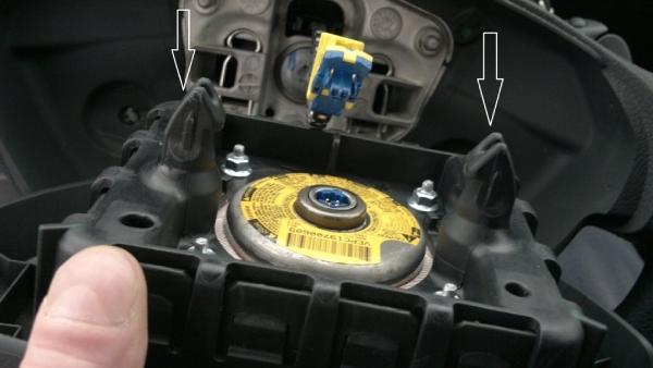 Снимаем руль Renault Duster