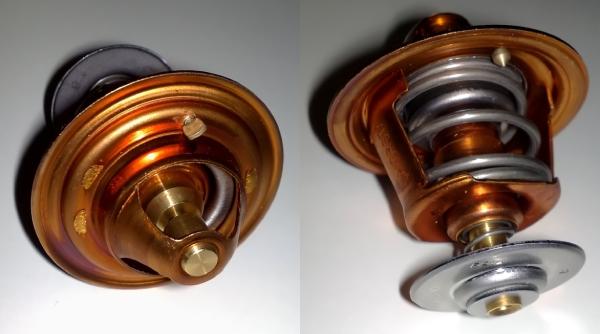 Проверяем работу клапана термостата