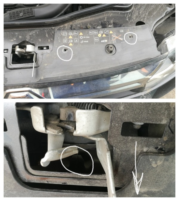Снимаем решетку радиатора на рестайлинговый Renault Duster