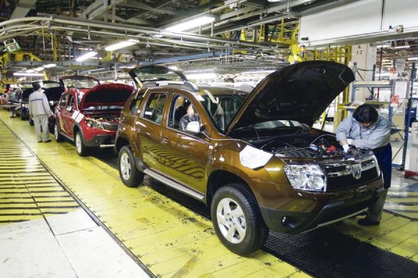 Производство Dacia